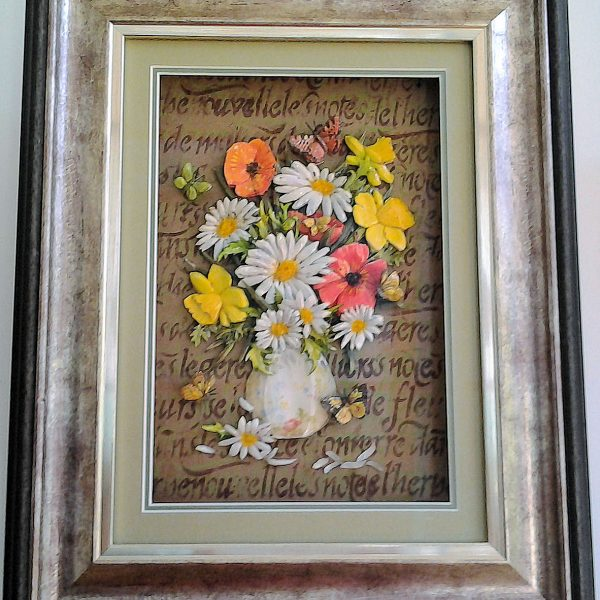 12 Bouquet -Daisies and daffodils